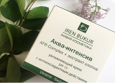 Защита от ультрафиолета с косметикой IRENE BUKUR