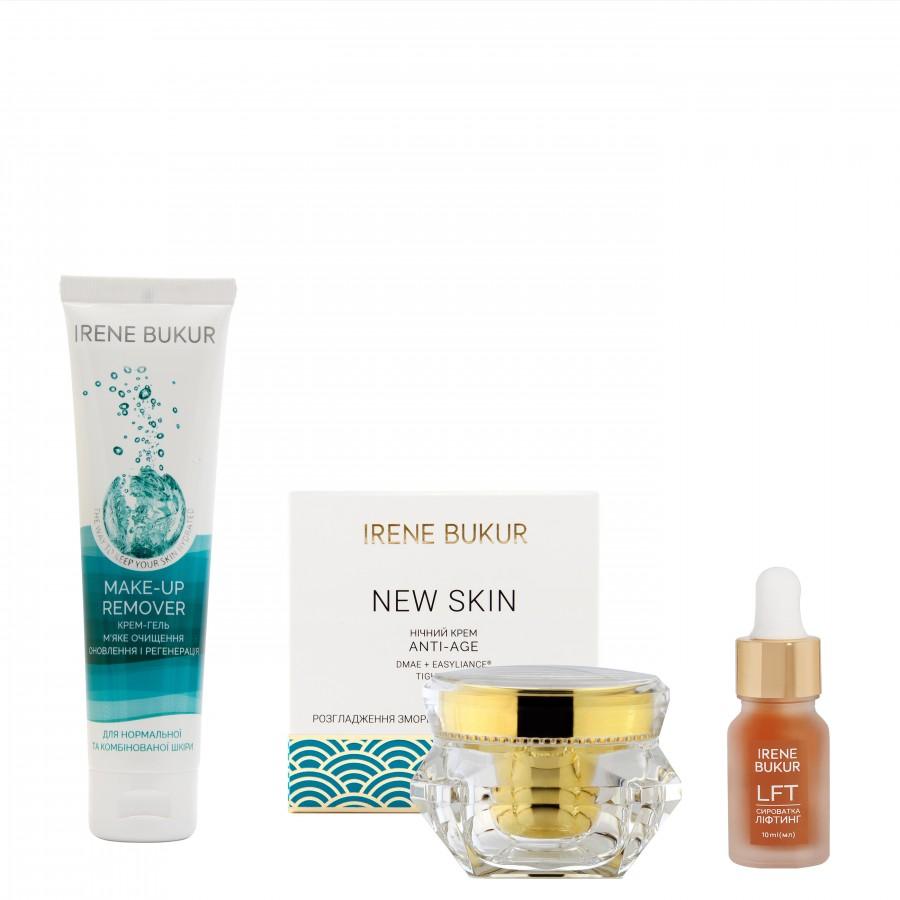 Вечірній догляд New Skin з сироваткою Ліфтинг для нормальної та комбінованої шкіри
