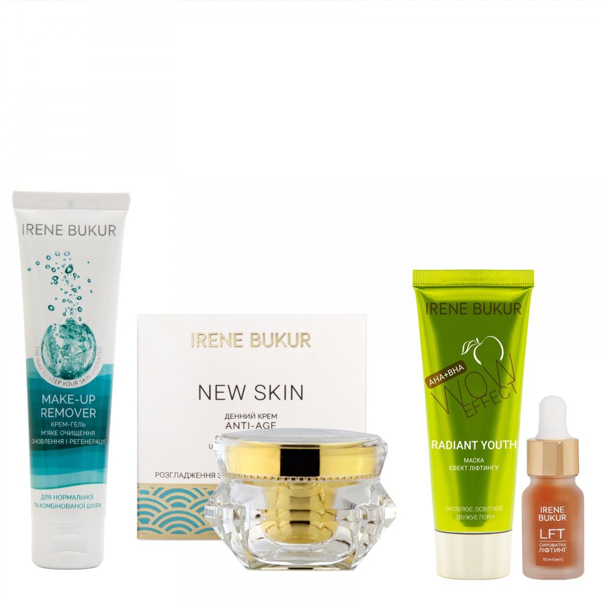 Інтенсивний догляд New Skin (день) з сироваткою Ліфтинг для нормальної та комбінованої шкіри