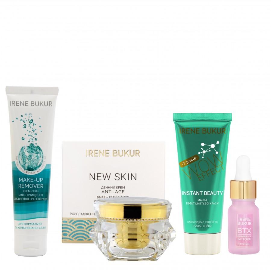 Інтенсивний догляд New Skin (день) + з сироваткою Ботокс для нормальної та комбінованої шкіри