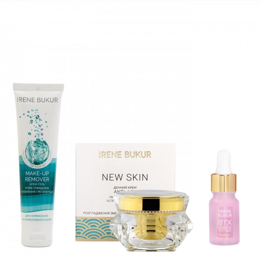 Ранковий догляд New Skin  + з сироваткою Ботокс для  нормальної та комбінованої шкіри