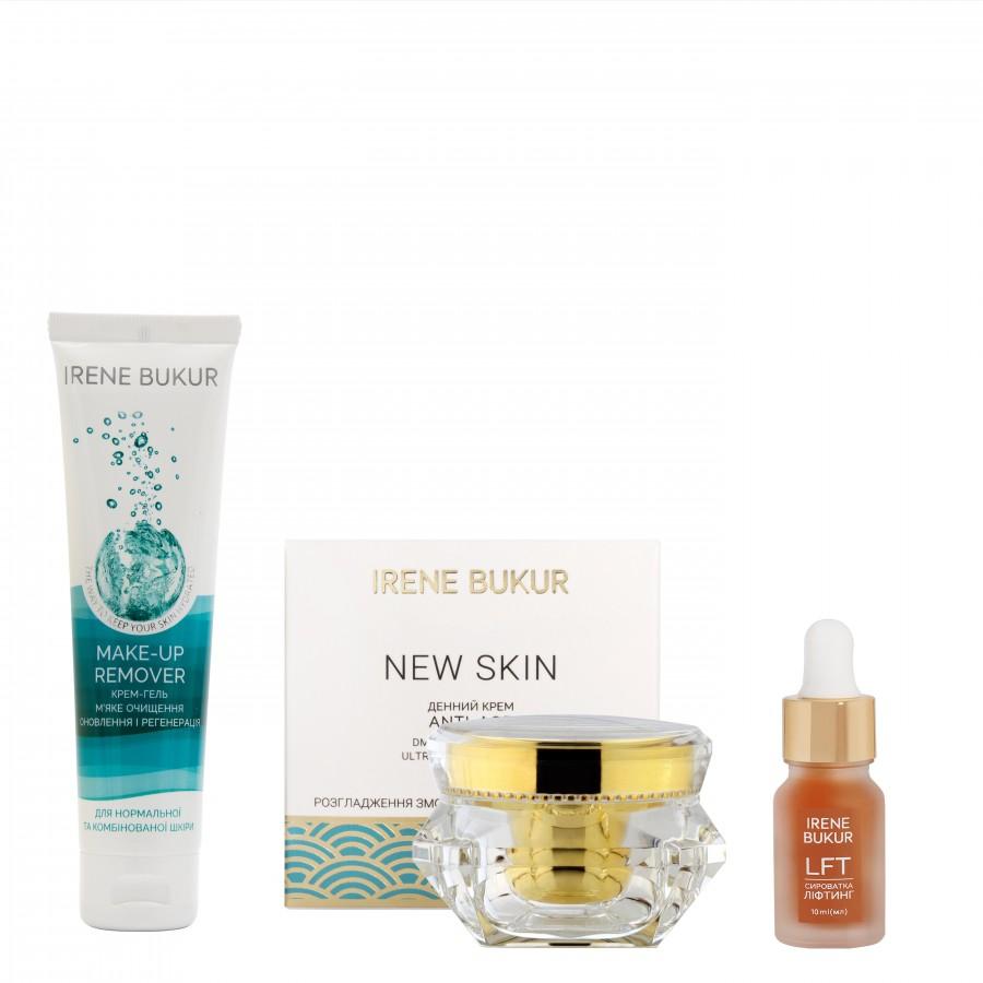 Ранковий догляд New Skin з сироваткою Ліфтинг для нормальної та комбінованої шкіри