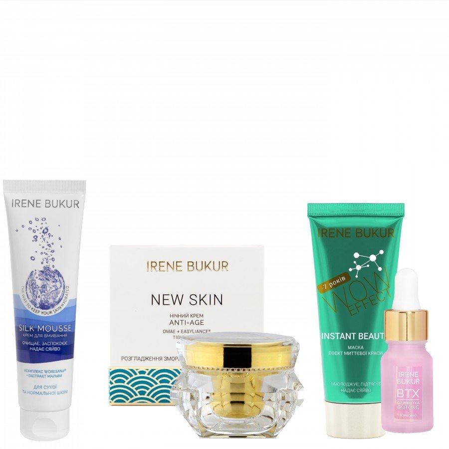 Інтенсивний догляд New Skin (ніч) + з сироваткою Ботокс для сухої та чутливої шкіри