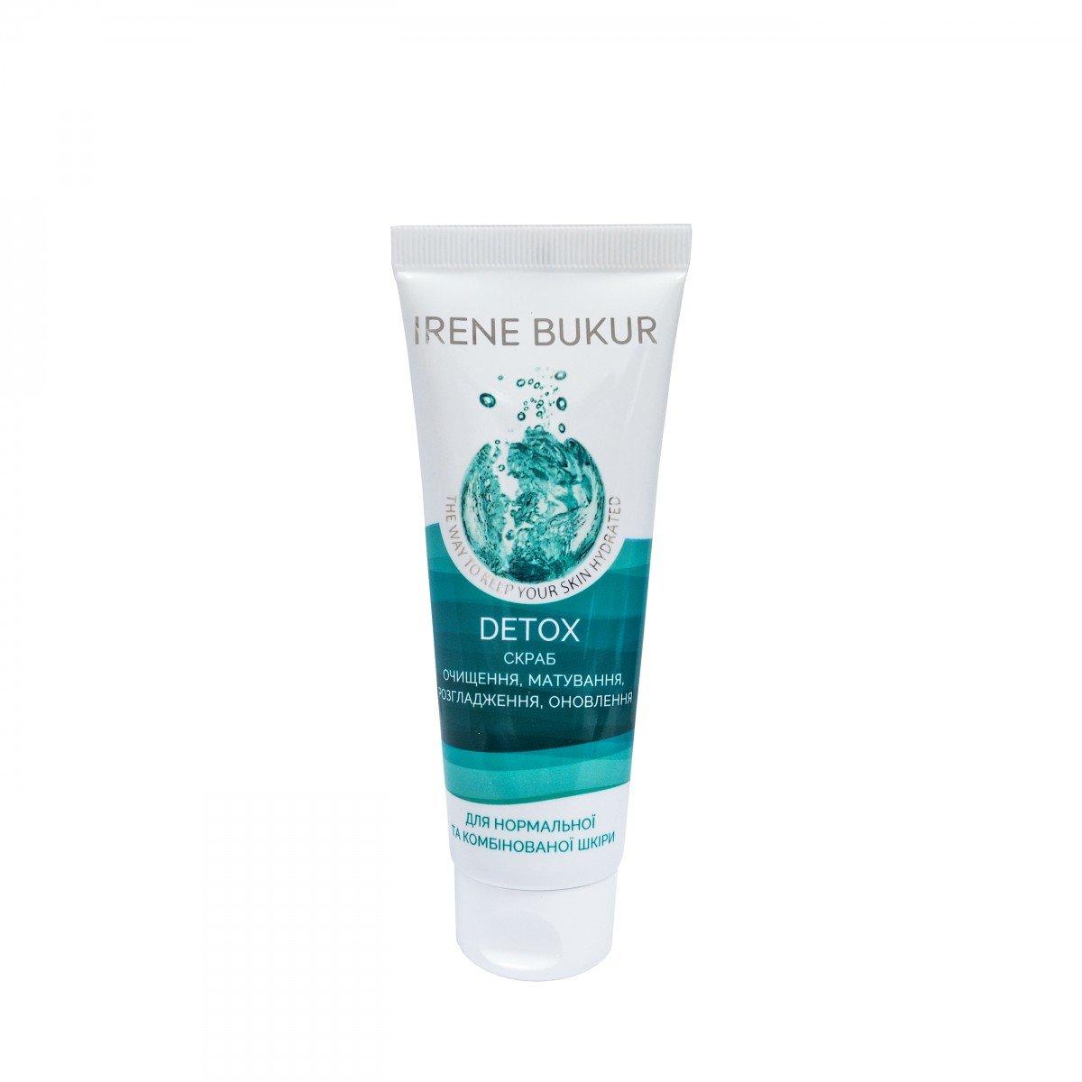 Detox-скраб для нормальной и комбинированной кожи, 75 г